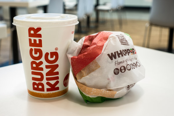 Burger King fast food restaurant